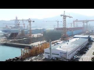 Строительство самого большого корабля в мире